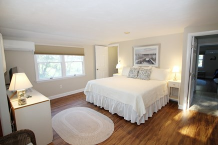Wellfleet Cape Cod vacation rental - Second floor master with king  and twin bed
