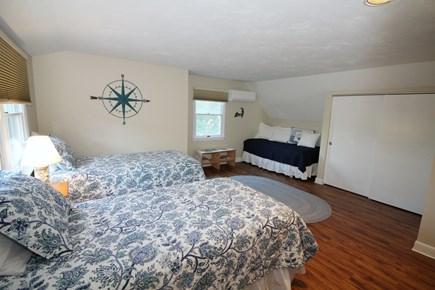 Wellfleet Cape Cod vacation rental - Second floor bedroom with three twins