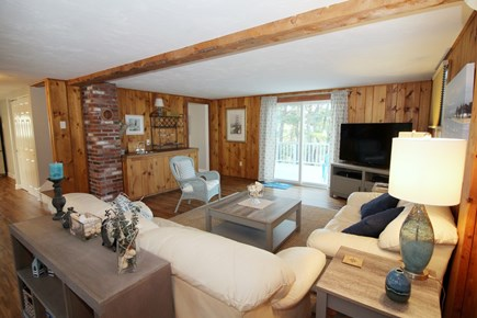Wellfleet Cape Cod vacation rental - Slider from living room leads to large deck