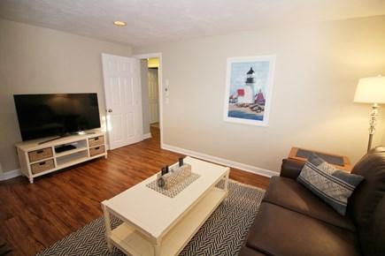 Wellfleet Cape Cod vacation rental - Lower level den with flat screen TV