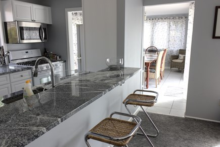 New Seabury Cape Cod vacation rental - View of Kitchen to Dining