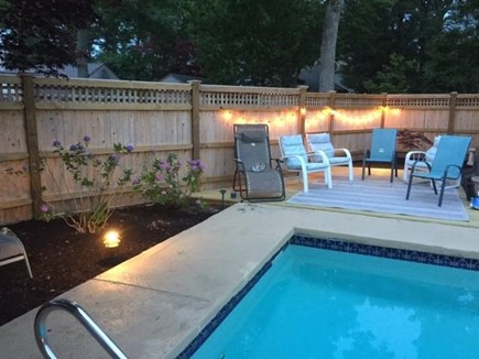 New Seabury Cape Cod vacation rental - Pool sitting area