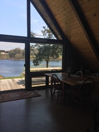 East Orleans Cape Cod vacation rental - View to pond from living/dining area.