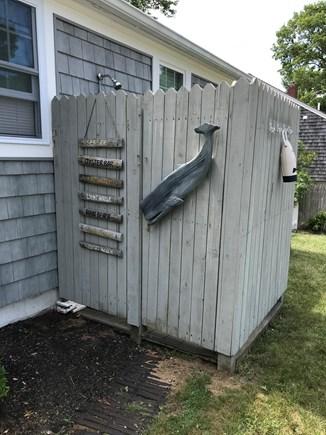 West Dennis Cape Cod vacation rental - Outdoor Shower