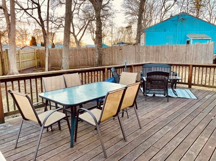 Centerville Centerville vacation rental - Deck with seating