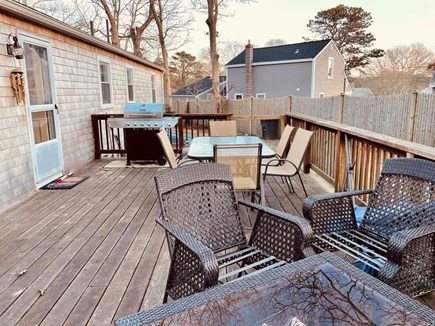 Centerville Centerville vacation rental - Deck and grill