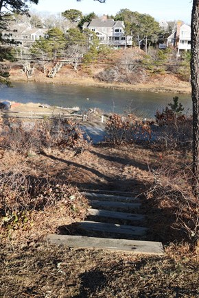 South Chatham Cape Cod vacation rental - Steps to the Landing