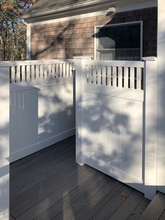 Brewster Cape Cod vacation rental - New outdoor shower.