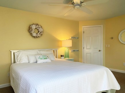 Brewster Cape Cod vacation rental - 2nd floor bdrm with queen and twin bed. Free standing AC unit.