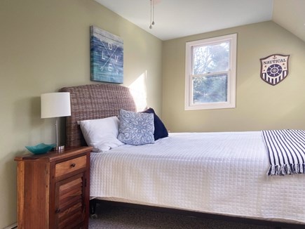 Brewster Cape Cod vacation rental - 2nd floor bonus room with queen bed and 2 sky lights.