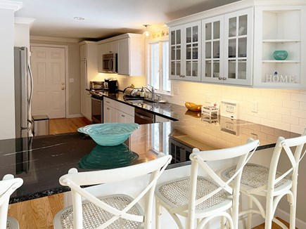 Brewster Cape Cod vacation rental - Beautifully updated kitchen meeting every chefs needs.