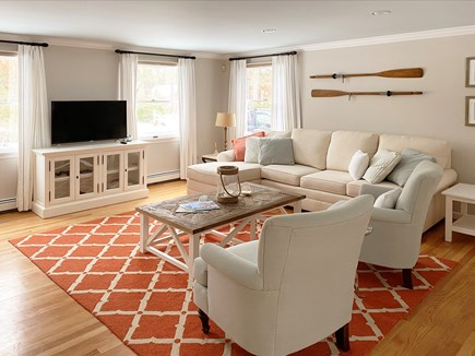 Brewster Cape Cod vacation rental - Spacious living room with WiFi and streaming HD TV.
