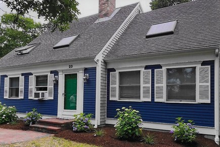Brewster Cape Cod vacation rental - Short walk to pond where you can swim, fish and kayak.