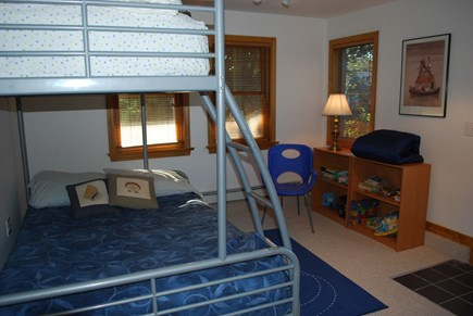 North Truro Cape Cod vacation rental - Lower level bedroom #1 (bunk beds)