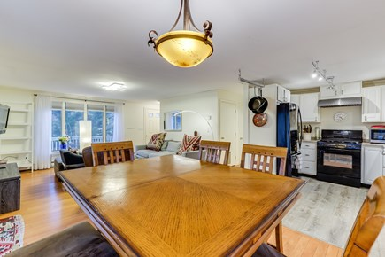 Provincetown Cape Cod vacation rental - Dining area looking into kitchen