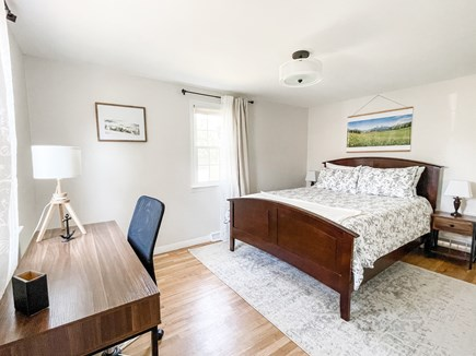 Hyannisport Cape Cod vacation rental - Edelweiss Room has a comfortable queen size bed and office space.