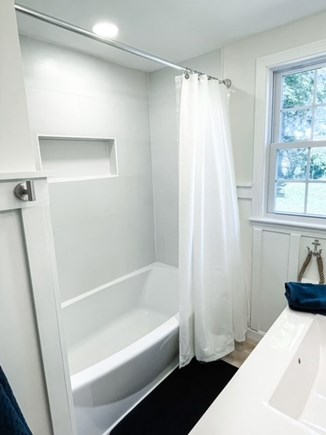 Hyannisport Cape Cod vacation rental - New fully renovated shower with soaking tub!