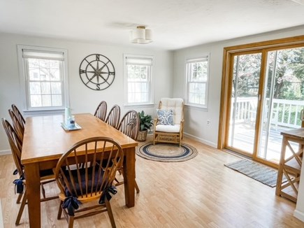 Hyannisport Cape Cod vacation rental - The sunroom/dining room - a great gathering place!