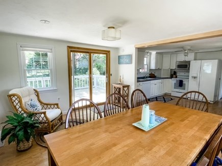 Hyannisport Cape Cod vacation rental - Sunroom looking into the kitchen