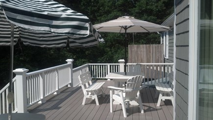 Eastham, Private Beach Access - 1133 Cape Cod vacation rental - Deck