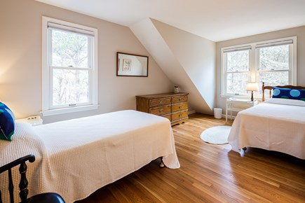 Orleans Cape Cod vacation rental - Second floor twin room w/ ceiling fan