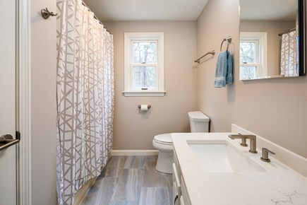 Orleans Cape Cod vacation rental - Second floor updated full bathroom w/ tub shower combo