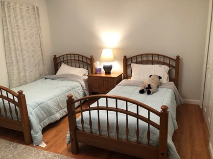 Eastham Cape Cod vacation rental - Downstairs twins near bathroom, great for elderly and kids.