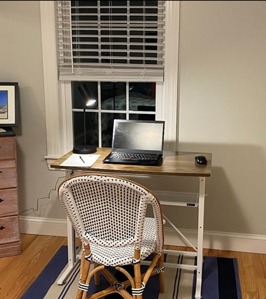 South Yarmouth Cape Cod vacation rental - Need to get some work done?  Adjustable sit/stand desk available