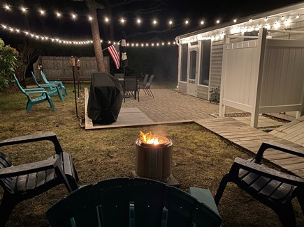 South Yarmouth Cape Cod vacation rental - Fire Pit