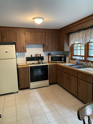 Chatham Cape Cod vacation rental - Large eat in kitchen.