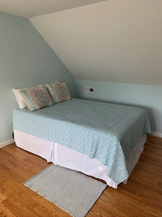 Falmouth Cape Cod vacation rental - Upstairs Guest Bedroom, Queen Size Bed + 2 XL Twins
