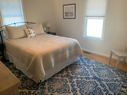 Falmouth Cape Cod vacation rental - Downstairs Bedroom #2 with Queen Sized Bed