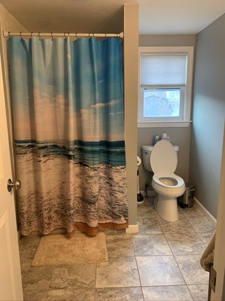 Falmouth Cape Cod vacation rental - Downstairs Bathroom