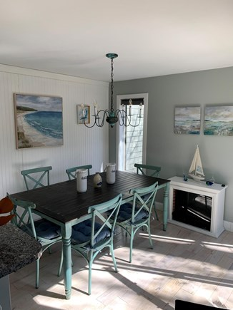 New Seabury Cape Cod vacation rental - Dining area.  There is an adjacent deck.