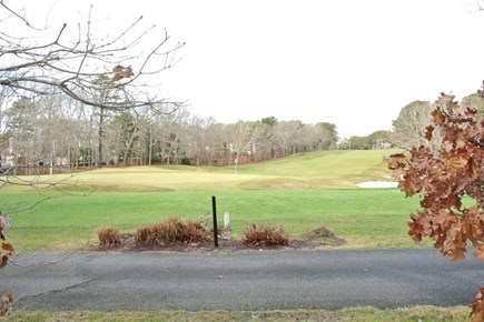 New Seabury Cape Cod vacation rental - New Seabury golf course is in front of the condo.