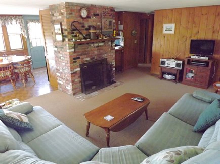 Chatham Cape Cod vacation rental - Living room and Dining Area
