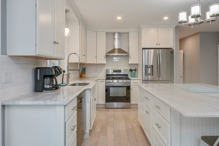 Eastham Cape Cod vacation rental - Modern kitchen with stainless steel appliances