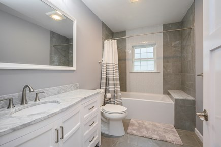 Eastham Cape Cod vacation rental - Bathroom 1 - tub+shower