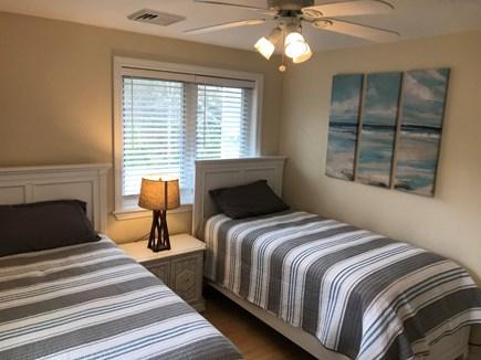 Mashpee Cape Cod vacation rental - First floor second bedroom - 2 twins