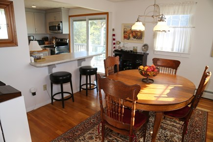 East Sandwich Cape Cod vacation rental - Additional bartop seating in Dining Room side