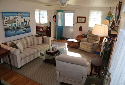 East Sandwich Cape Cod vacation rental - Entry into Living Room