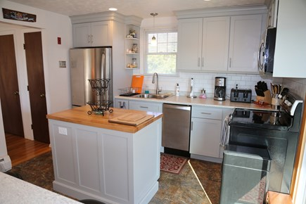 East Sandwich Cape Cod vacation rental - Newly renovated Kitchen with center island