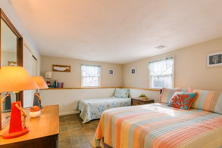 Sandwich Cape Cod vacation rental - Bedroom 4 with Double & Twin on Lower level