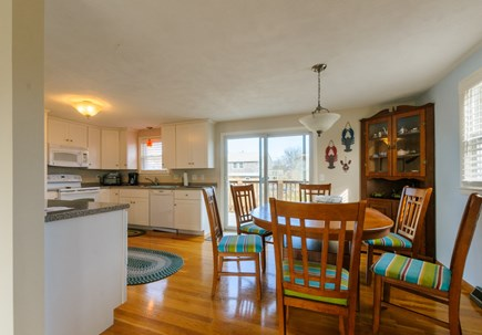 Sandwich Cape Cod vacation rental - Dining table in Kitchen