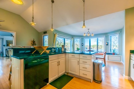 Sandwich Cape Cod vacation rental - Kitchen with waterviews