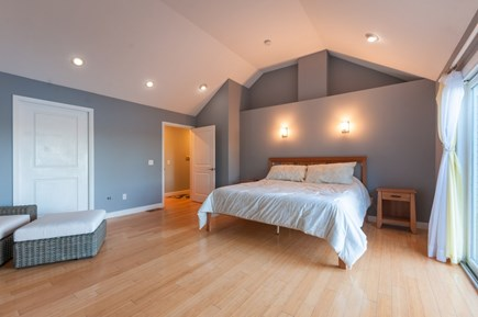 Sandwich Cape Cod vacation rental - Master Bedroom with King and sliders to private deck