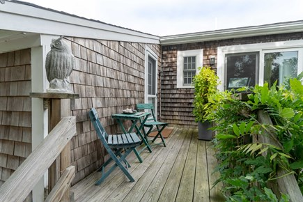 Provincetown Cape Cod vacation rental - Upper deck