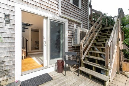 Provincetown Cape Cod vacation rental - Back patio