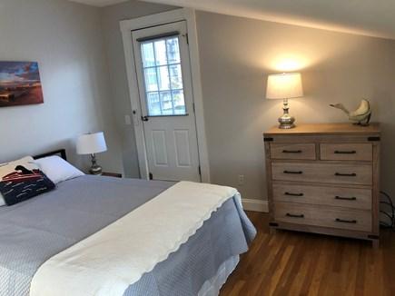 Provincetown Cape Cod vacation rental - Second Bedroom with door to upper deck