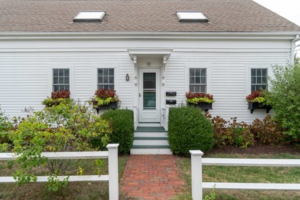 Provincetown Cape Cod vacation rental - Front door and yard